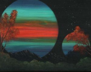 acrylic on canvas Dawn Blair ©2012 Available on Zibbet