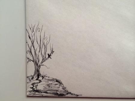 envelope closeup