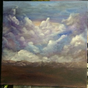 A cloudy start Work in process Dawn Blair ©2015