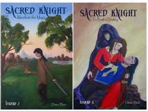 Dawn Blair_Sacred Knight_books 2-3