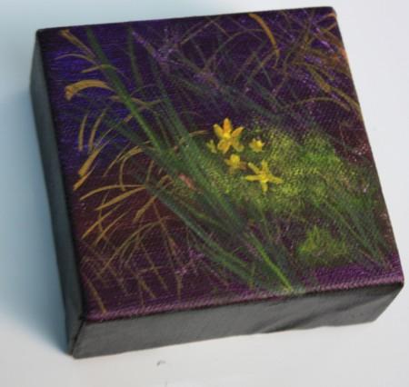 Shadow Flowers #4315009 4x4 on wrapped canvas Dawn Blair ©2015