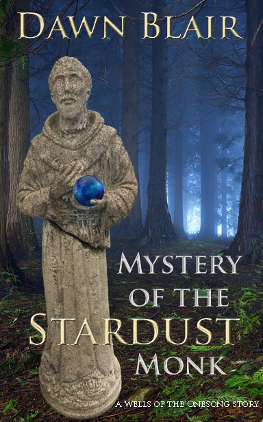 Mystery of the Stardust Monk front cover small