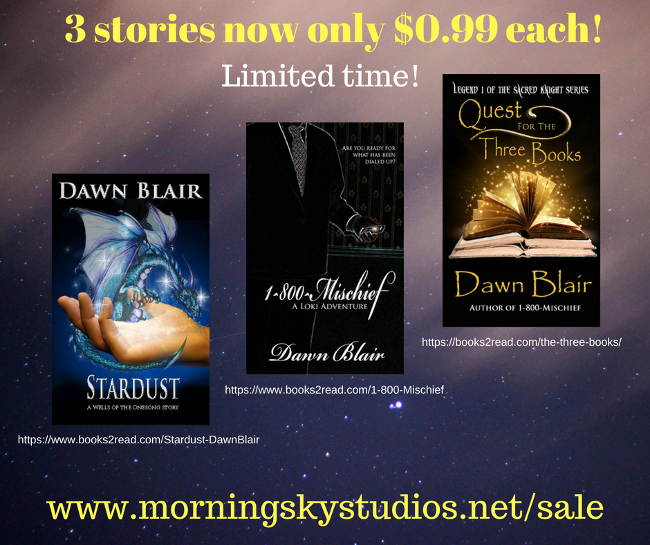3 stories now only $0.99! (1)