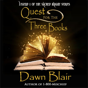 Quest for the Three Books audiobook cover small